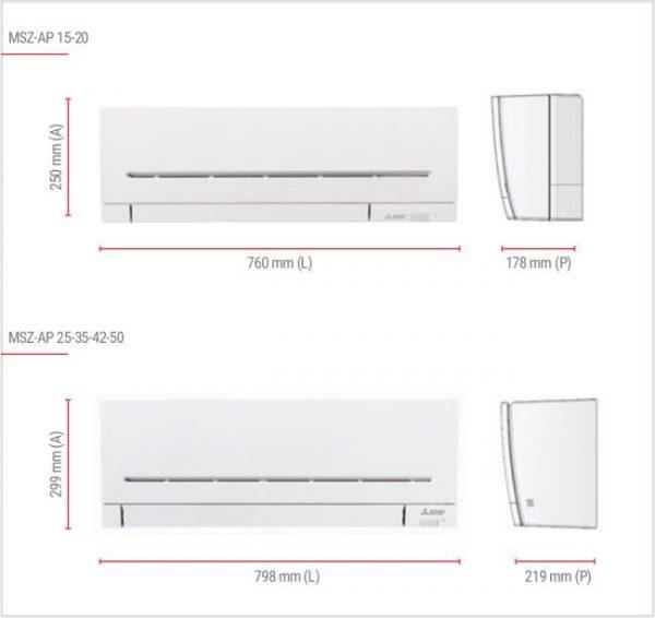 MSZ-AP50VGK ENVIROME Duvar Tipi Split Klima Serisi (WİFİ)