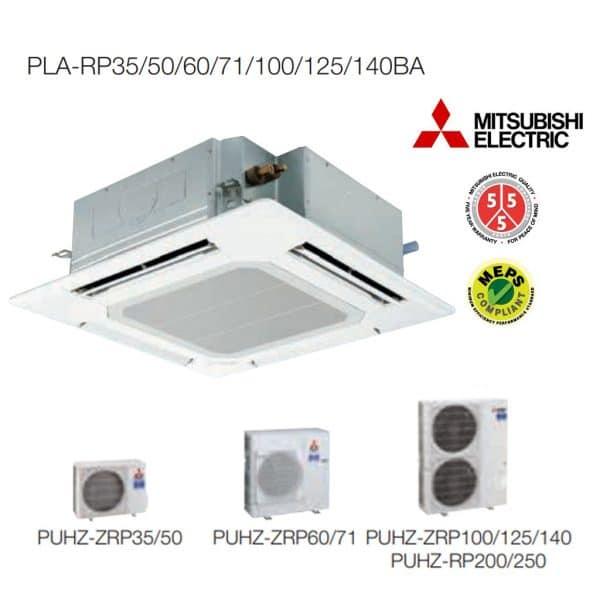 PLA-ZM140EA POWER İNVERTER 4 Yön Üflemeli Kasetli Tavan Tipi