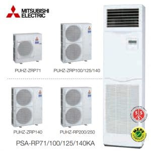PSA-RP125KA Salon Tipi Split Klima MR. Slim Serisi Power Inverter Monofaze R410A
