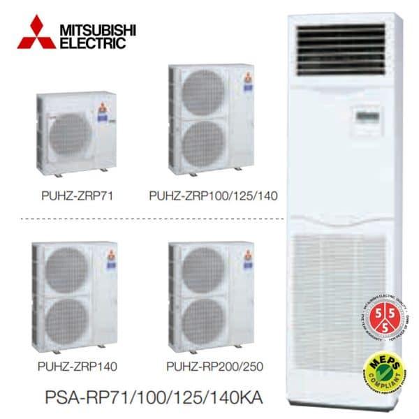PSA-RP125KA Salon Tipi Split Klima MR. Slim Serisi Power Inverter Monofaze R410A