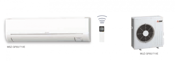 MSZ-GF Deluxe Power Inverter Duvar Tipi Split Klima Serisi