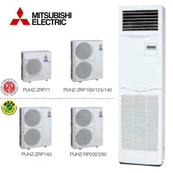 PSA-RP125KA Salon Tipi Split Klima MR. Slim Serisi Standart Inverter Monofaze R410A