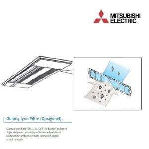 MAC-2360FT Gümüş İyonlu Hava Temizleyici – Filtreler (M Serisi)