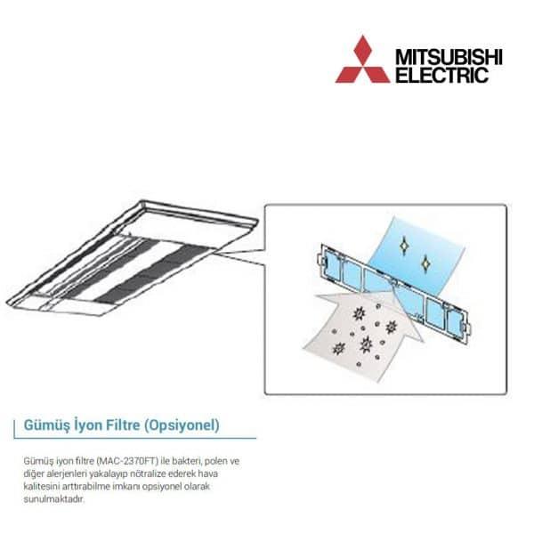MAC-2390FT Gümüş İyonlu Hava Temizleyici – Filtreler (M Serisi)