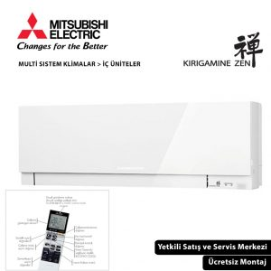 MSZ-EF35VGW Kirigamine Zen Duvar Tipi İç Ünite Multi Split Klima Serisi