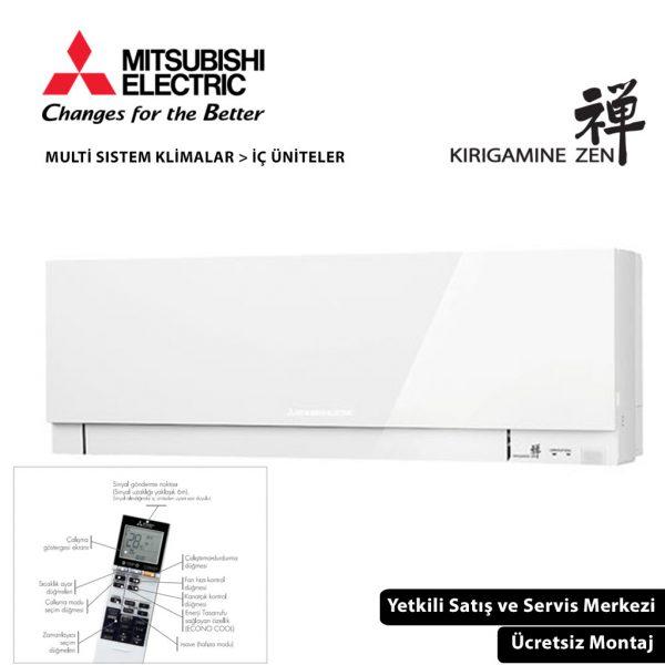 MSZ-EF50VGW Kirigamine Zen Duvar Tipi İç Ünite Multi Split Klima Serisi