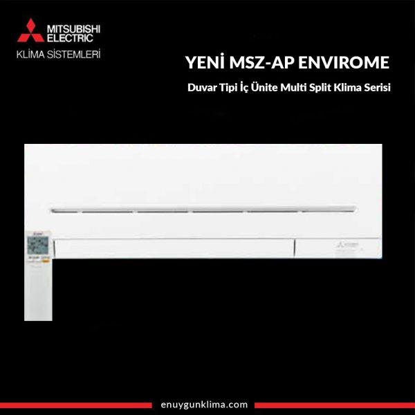 MSZ-AP35VGK ENVIROME WIFI Duvar Tipi İç Ünite Multi Split Klima Serisi